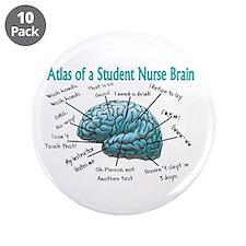 "Nursing Student IV 2011 3.5"" Button (10 pack)"