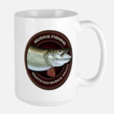 Large Muskie Coffee Cup
