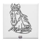 Mustang Horse Tile Coaster