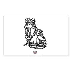 Mustang Horse Decal