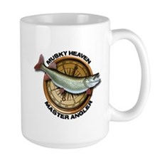 Large Muskellunge Fishing Mug