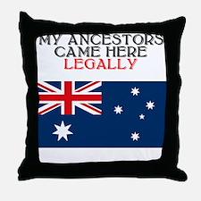 Australian Heritage Throw Pillow