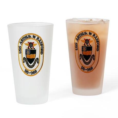 USS ARTHUR W. RADFORD Drinking Glass