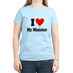 I Love My Minister Women's Light T-Shirt