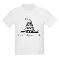 Dont Tread On Me - Black T-Shirt