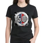 5.0 50 RWB Women's Dark T-Shirt