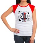 5.0 50 RWB Women's Cap Sleeve T-Shirt