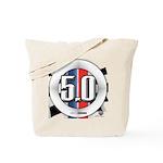 5.0 50 RWB Tote Bag