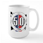 5.0 50 RWB Large Mug