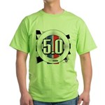 5.0 50 RWB Green T-Shirt