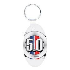 5.0 50 RWB Keychains