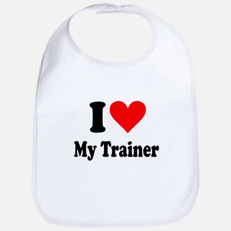 I Love My Trainer: Bib