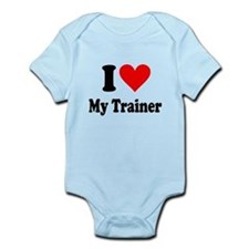 I Love My Trainer: Infant Bodysuit