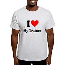 I Love My Trainer: T-Shirt