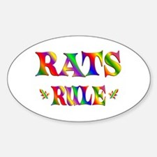 RATS RULE Decal