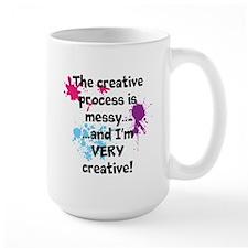 Creative=Messy Mug