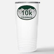 10K Colo License Plate Travel Mug