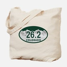 26.2 Colo License Plate Tote Bag