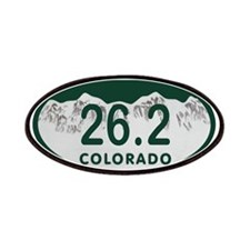26.2 Colo License Plate Patches