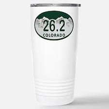 26.2 Colo License Plate Travel Mug