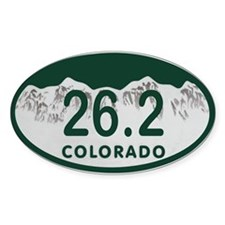26.2 Colo License Plate Decal
