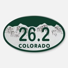 26.2 Colo License Plate Sticker (Oval)