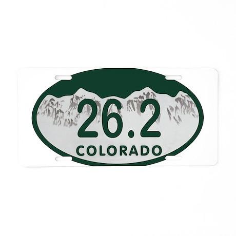 26.2 Colo License Plate Aluminum License Plate