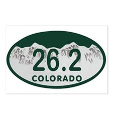 26.2 Colo License Plate Postcards (Package of 8)