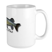 Large Northern Pike Coffee Cup