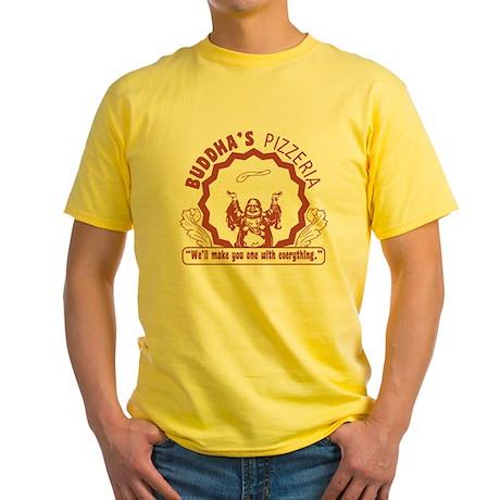 Buddha's Pizzeria Yellow T-Shirt