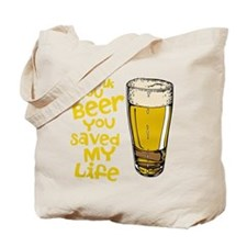 Thank You Beer Tote Bag