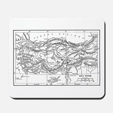 Asia Minor Map Mousepad