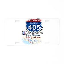 Lone Survivor: Aluminum License Plate