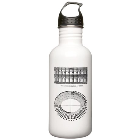 Nimes Amphitheater Stainless Water Bottle 1.0L