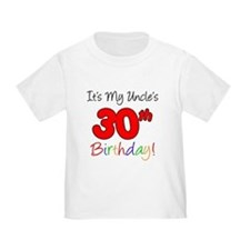 Uncle's 30th Birthday T