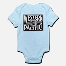 Western Pacific Feather railroad Body Suit