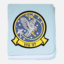 Funny The hawk baby blanket