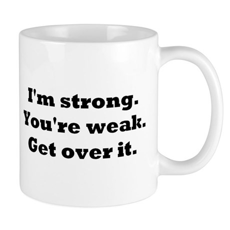 im strong, resized Mugs