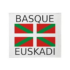 Basque - Euskadi Throw Blanket