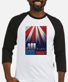 911 September 11th - 10th Ann Baseball Jersey