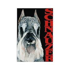 Urban Schnauzer Rectangle Magnet (100 pack)