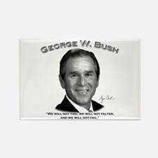George W. Bush 01 Rectangle Magnet