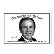 George W. Bush 01 Postcards (Package of 8)
