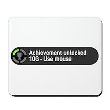 Achievement Unlocked Use Mouse