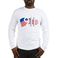 Cute September 11th never forget Long Sleeve T-Shirt