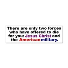 Cute Military Car Magnet 10 x 3