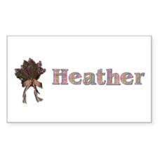 Heather Decal