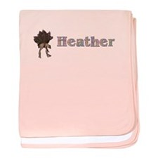 Heather baby blanket