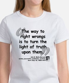 Wells Truth Quote Women's T-Shirt
