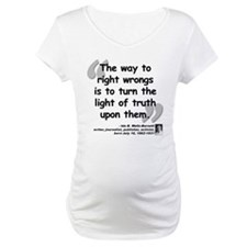 Wells Truth Quote Shirt